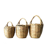 BIRKIN BASKET - Jane Birkin Basket - handmade wicker basket -  SMALL SIZE