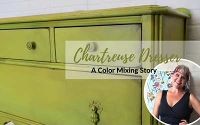 Chartreuse Dresser: A Color Mixing Story