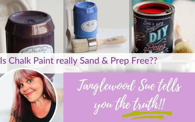 Can you really paint furniture without sanding or prepping?