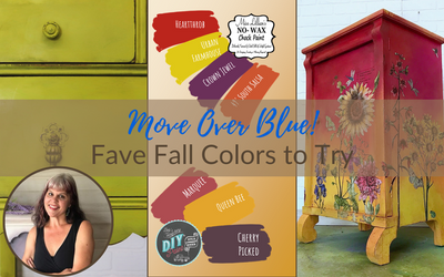 Move Over Blue! Fave Fall Colors to Try
