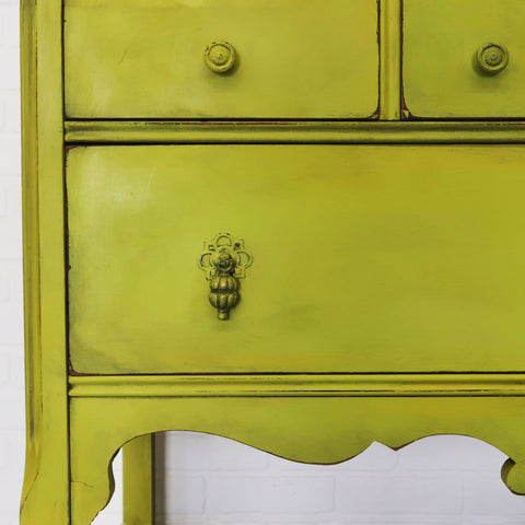 Chartreuse Dresser Tanglewood Sue