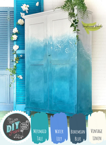Blended Armoire: Tanglewood Sue - Debi's Design Diary DIY Paint