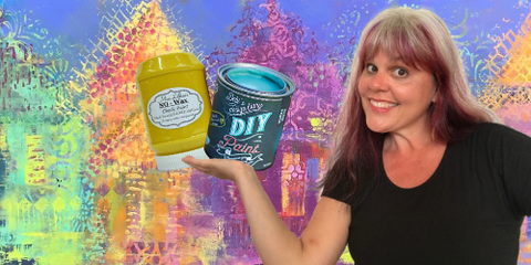 Tanglewood Sue Sells Miss Lillian's & Debi's Design Diary Paints