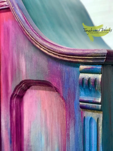 Blending Paint Colours on Furniture