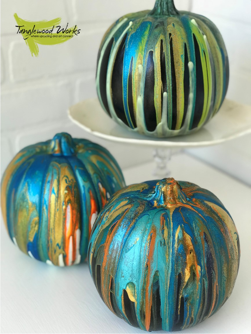 Shimmer Pumpkins - Tanglewood Sue