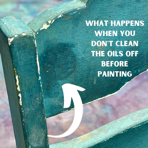 Why you need to prep your furniture before painting