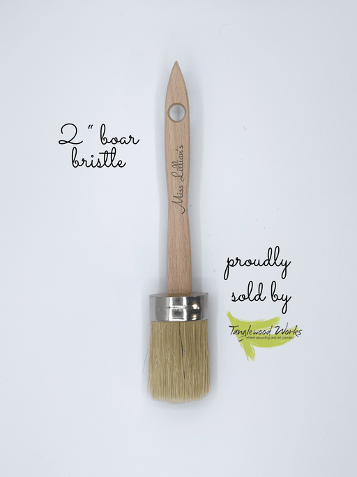 2 Inch Boar Bristle Chalk Paint Brush