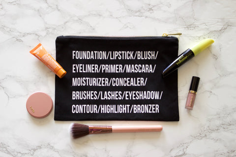 Makeup Roll Call Bag