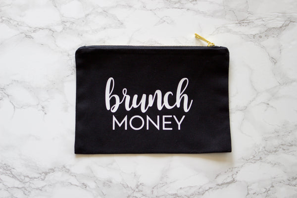 Brunch Money Bag