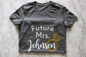 87 Treasures Future Mrs crew neck t shirt