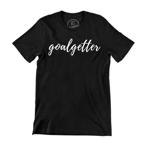 Black 87 Treasures Goalgetter crew neck t shirt