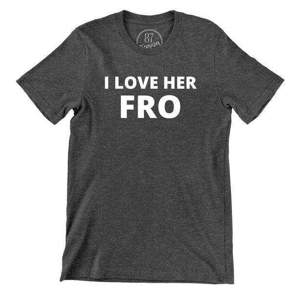 His Beard & Her Fro T-Shirt Set