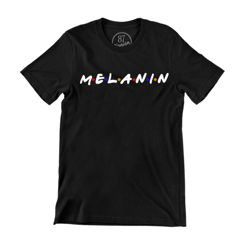 black 87treasures Melanin crew neck t shirt