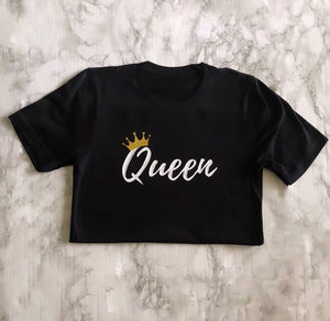 87 Treasures Queen crew neck t shirt