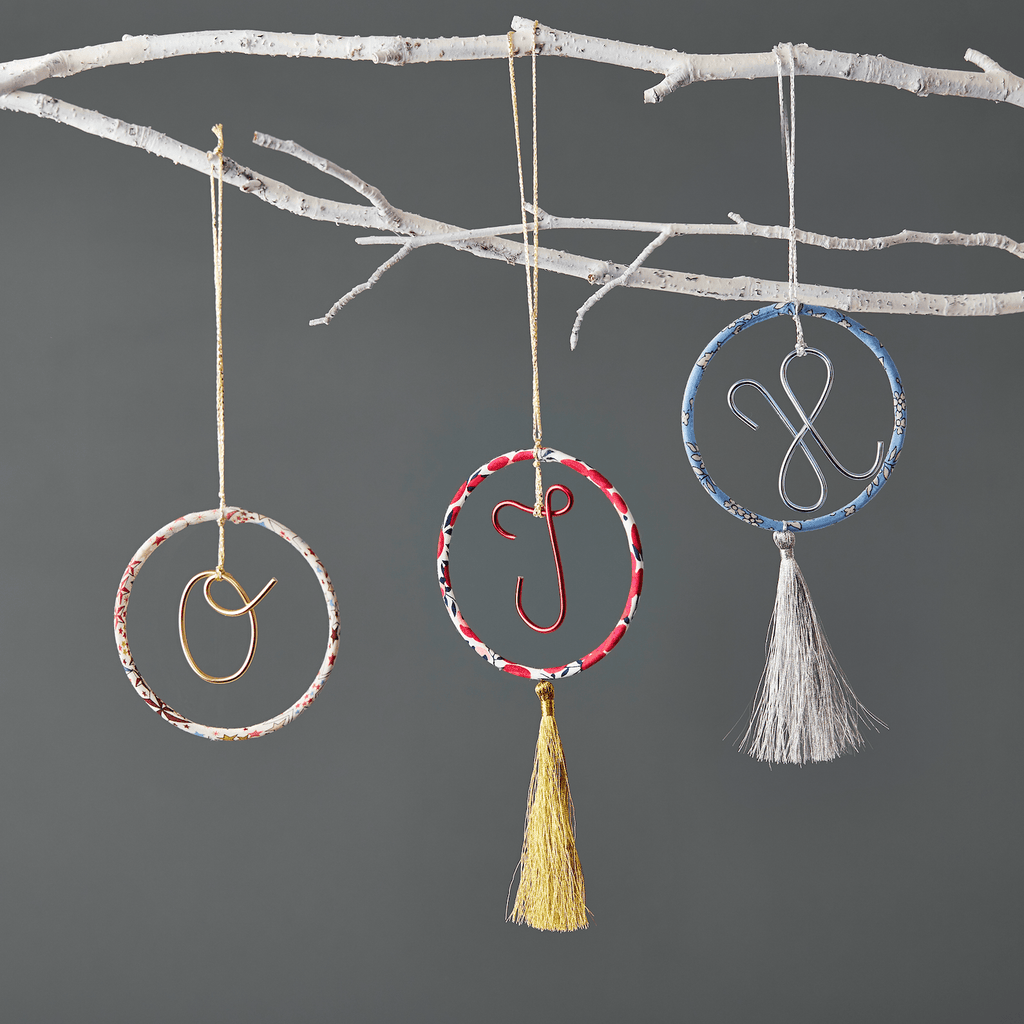 Little Cloud Christmas Circle Ornament (more options available)