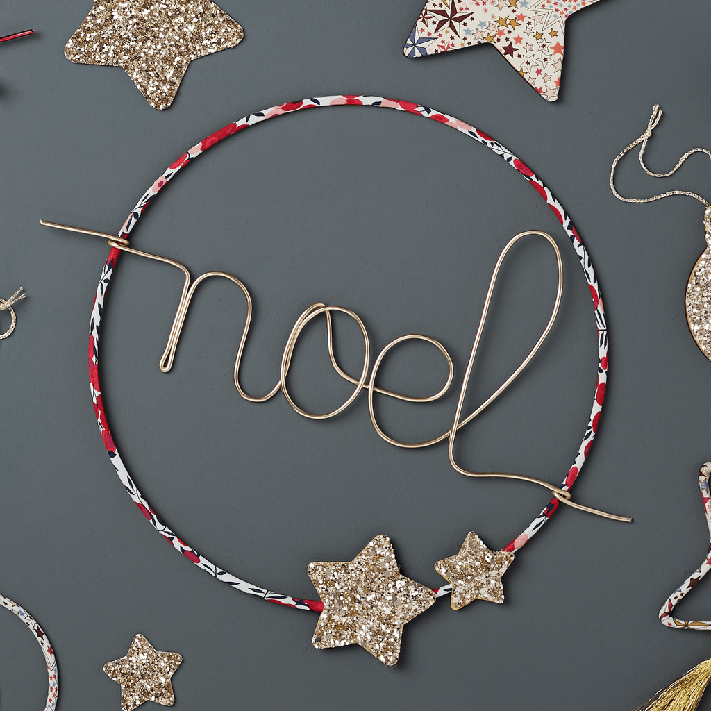 Little Cloud Christmas Noel Hoop sign (more options available)