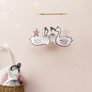 Little Cloud Mobile Liberty Ballerina & Swan Mobile