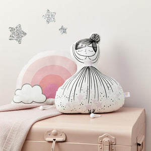 Little Cloud Musical Cushion Liberty Ballerina Musical Cushion