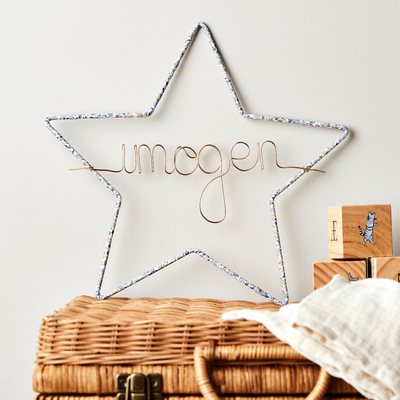 Little Cloud Name Hoops Liberty Liberty Star Name Sign