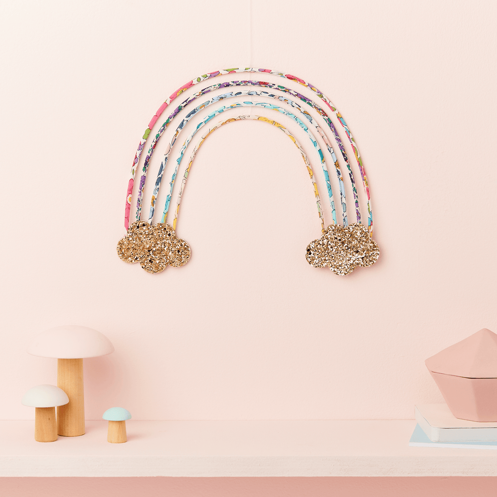 Little Cloud Rainbows All Betsy Liberty Rainbow Wire Wall Hanging
