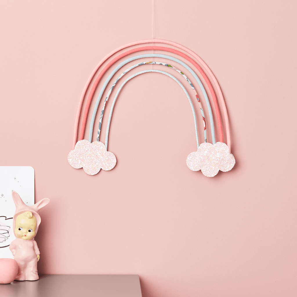 Little Cloud Rainbows Liberty Betsy Grey Rainbow Wire Wall Hanging