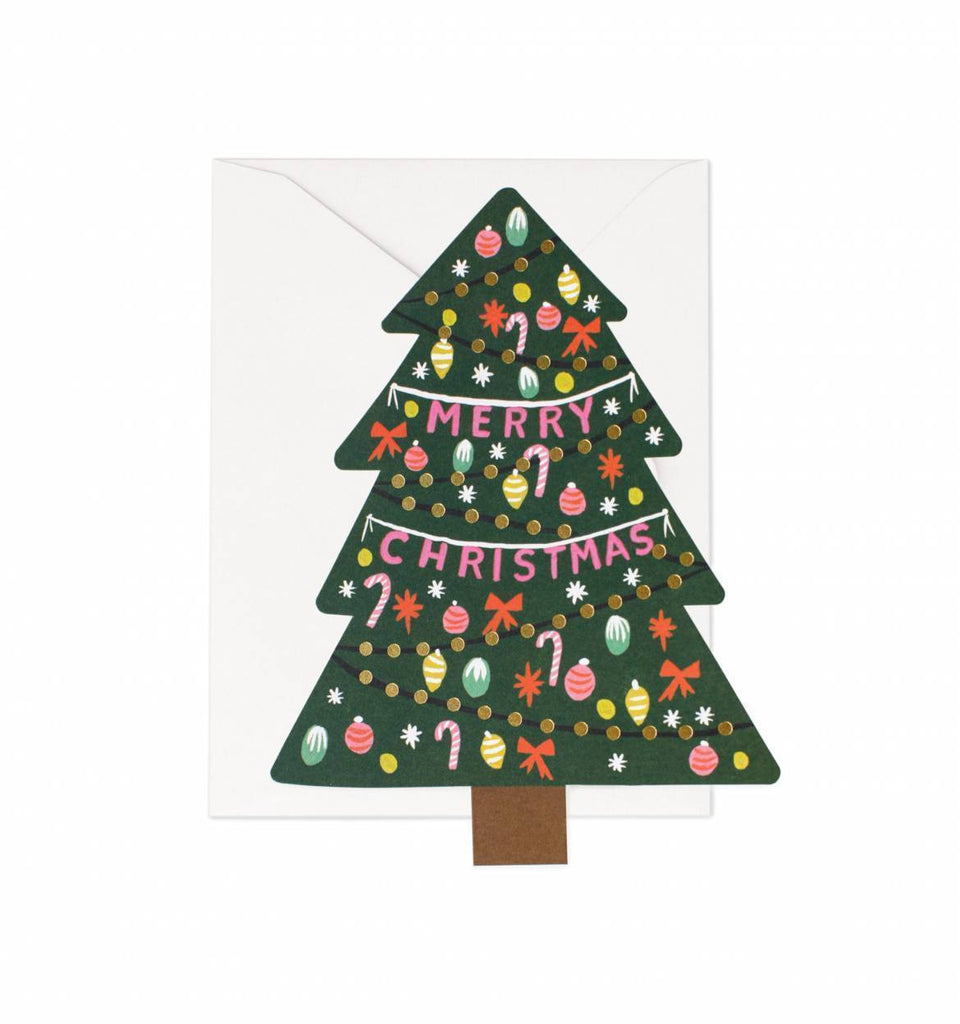 Rifle Paper Greeting Card Liberty Christmas Tree Card