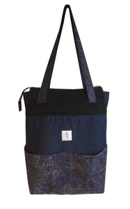 Sac Denim&Jacquard