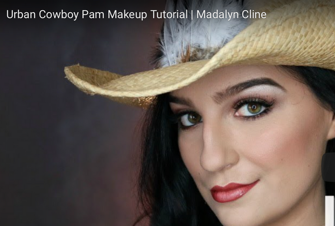 Urban Cowboy Pam Makeup Tutorial | Madalyn Cline