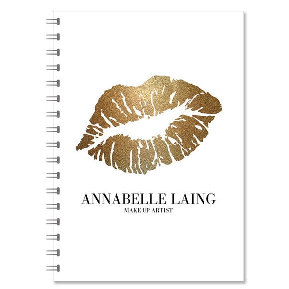 MakeUp Artist Personalised Notebook (NB-MUA-02)