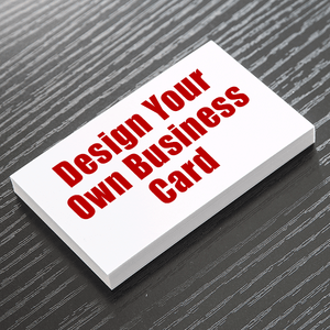 Business Card - Design Your Own - Single Sided - Portrait