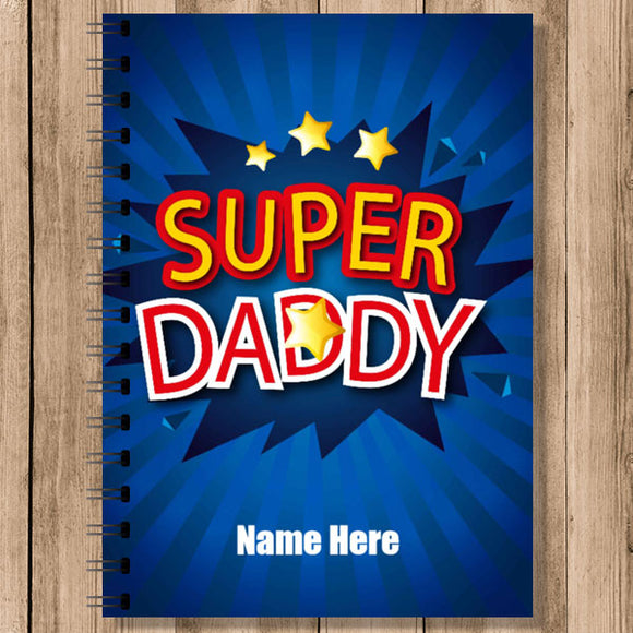 Personalised Notebooks (NB-DAD-2)