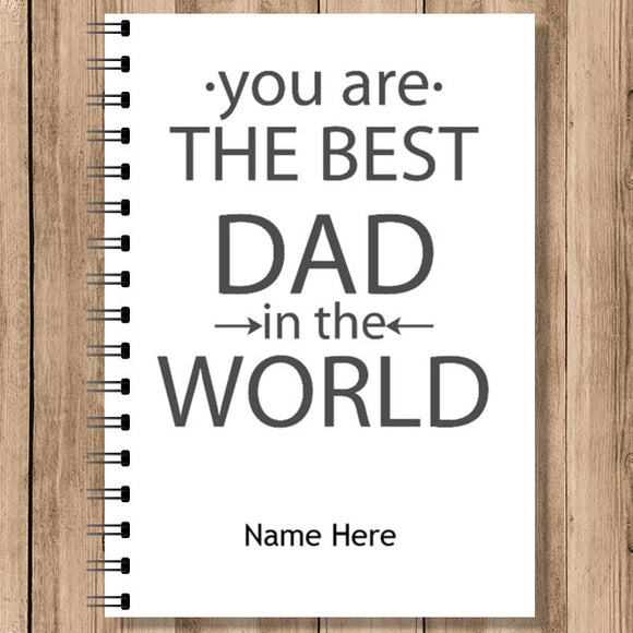 Personalised Notebooks (NB-DAD-5)