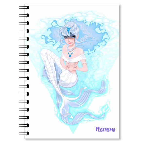 Personalised Mermaid Notebook (1)