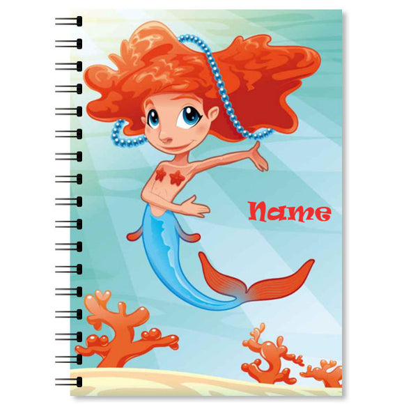 Personalised Mermaid Notebook (3)