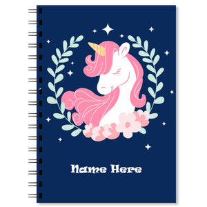 Personalised Unicorn Notebook (5)