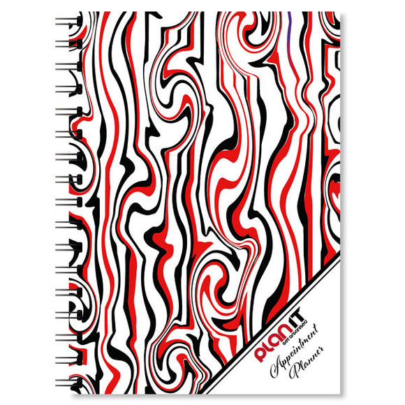 Planner - Weekly Appointment (Red/Black)