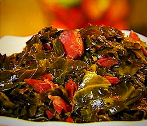 Southern Style Greens With Turkey or Pork