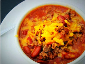Chili (made with beer)
