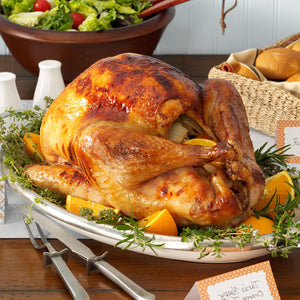 Roasted Turkey with Fresh Herbs and Oranges