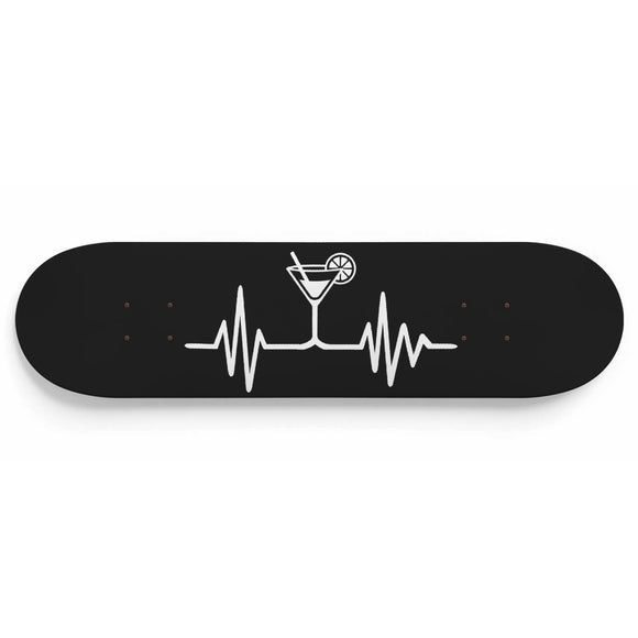 Heartbeat Bartender Cocktail Skateboard
