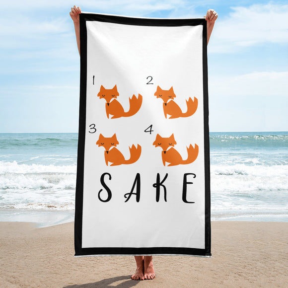 4 Fox Sake Towel
