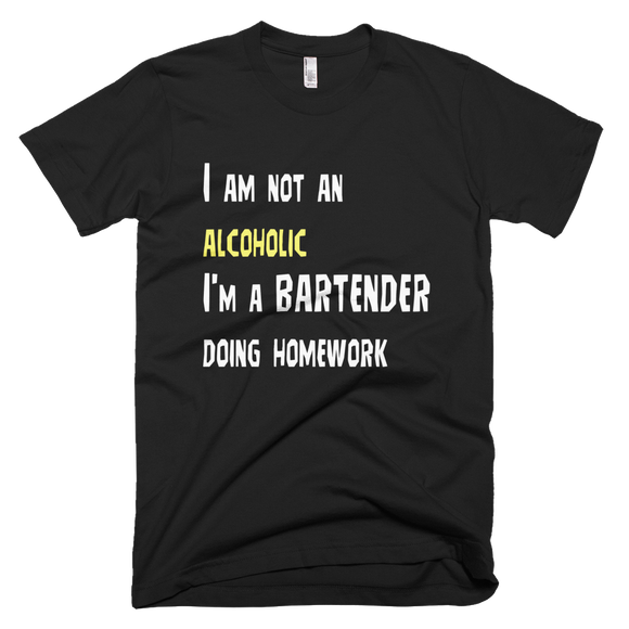 I am Not an Alcoholic. I'm a Bartender Doing Homework