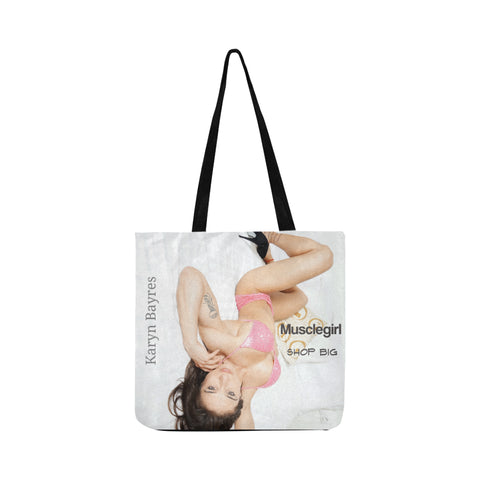 Example of personalised Reusable Shopping Bag Model 1660 (Two sides)