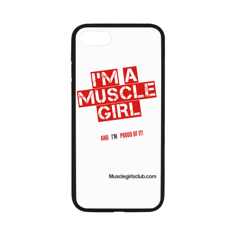 "I m a muscle girl-1 iphone case iPhone 7 4.7"" Case"
