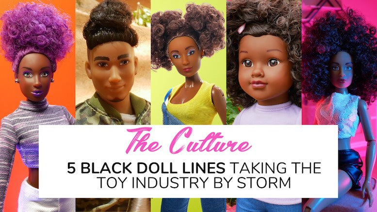 Featured on For Harriet's 5 Black Doll Lines Taking the Toy Industry by Storm