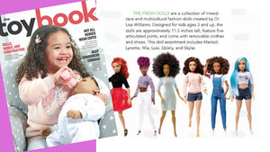 ToyBook Features the Fresh Dolls for our Diverse Line of Multicultural Fashion Dolls