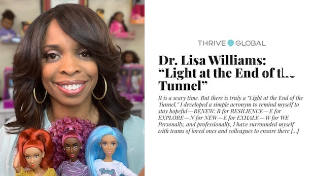 Thrive Global Features Dr. Lisa Finding Light At the End of the Tunnel During Covid-19