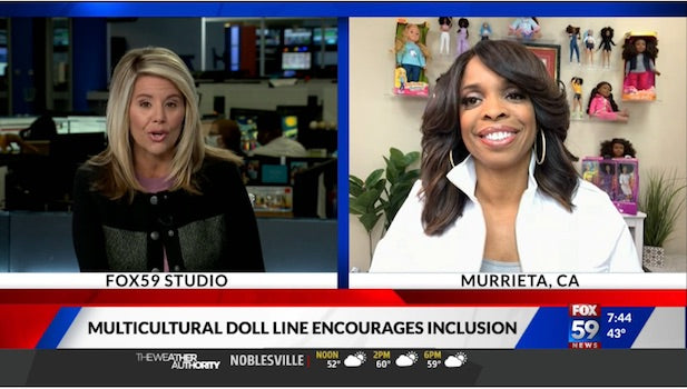Fox59 Features Dr. Lisa's Diverse Multicultural Doll Line The Fresh Dolls