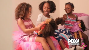 Fox News features black owned business the fresh dolls black dolls