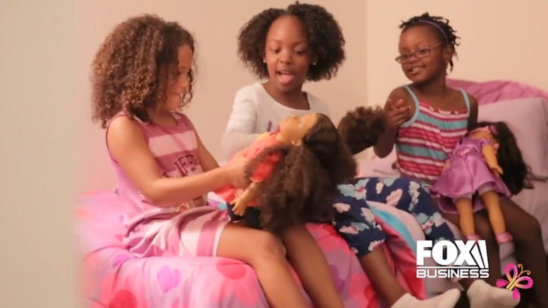 Fox News Featured the Fresh Dolls:  Diverse doll line resonates with consumers across US